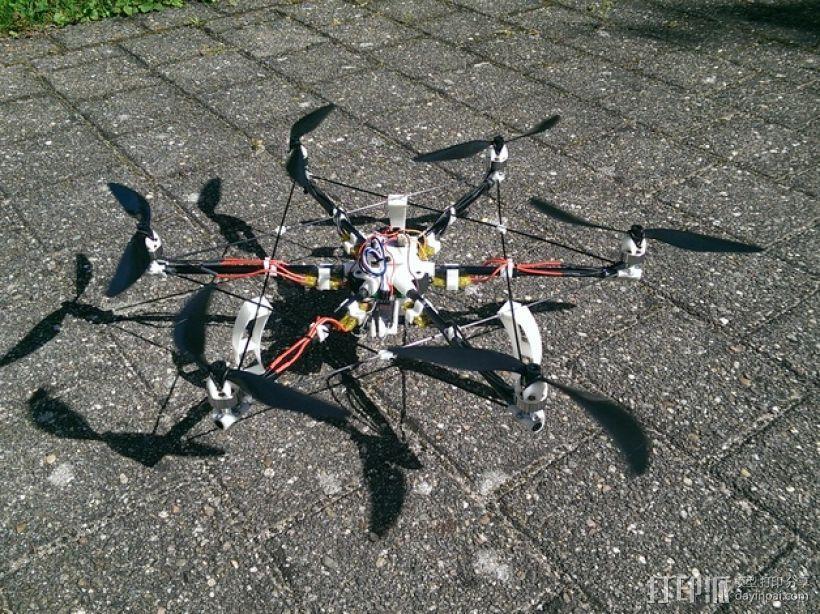 迷你六轴飞行器 3D模型  图1