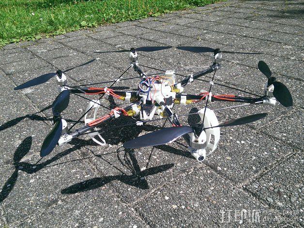 迷你六轴飞行器 3D模型  图6