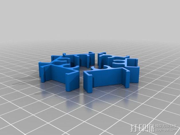 迷你六轴飞行器 3D模型  图8