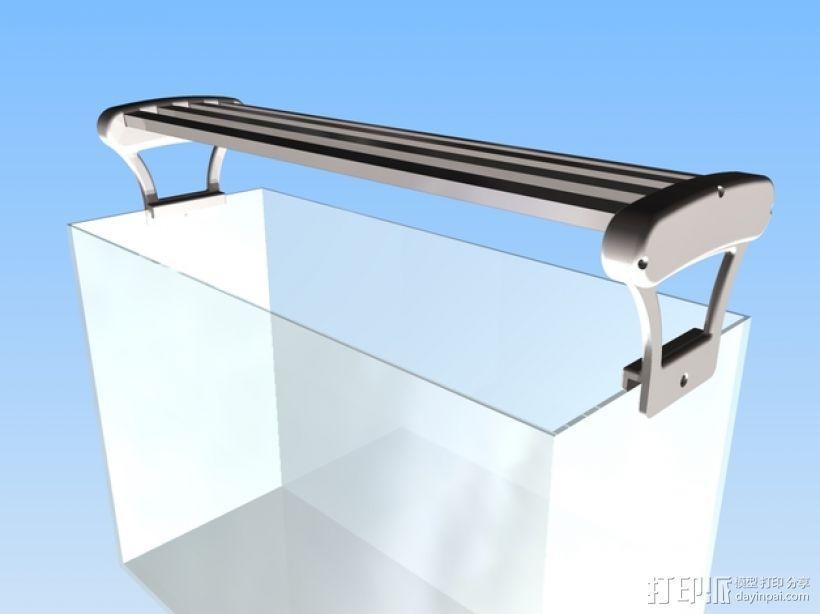 水族箱的LED灯 3D模型  图1
