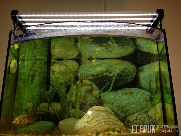 水族箱的LED灯 3D模型  图6