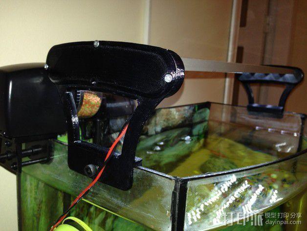 水族箱的LED灯 3D模型  图5