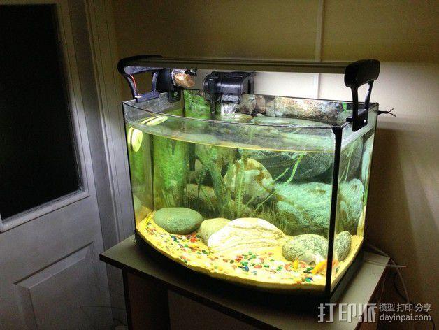 水族箱的LED灯 3D模型  图7