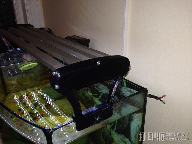 水族箱的LED灯 3D模型  图8