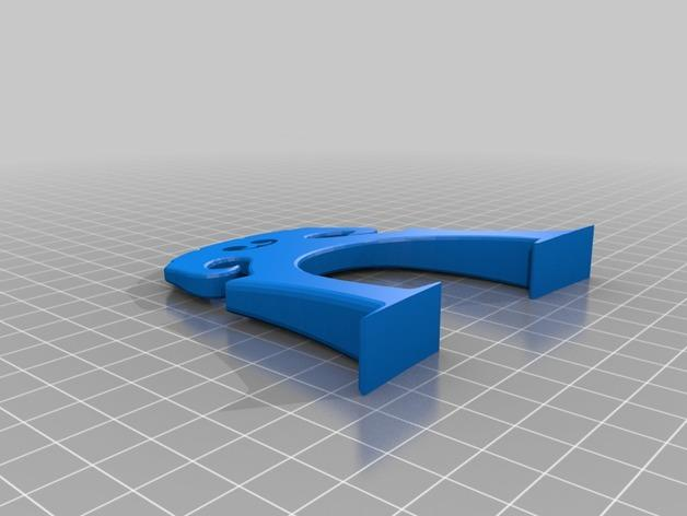 大提琴琴桥 3D模型  图2