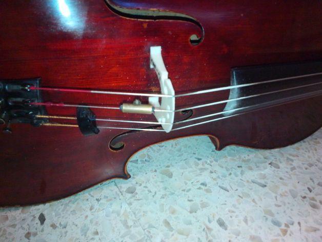 大提琴琴桥 3D模型  图6