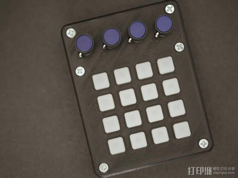 UNTZtrument控制器 3D模型  图2