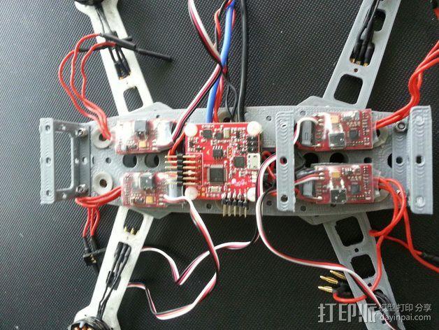 四轴飞行器 3D模型  图17
