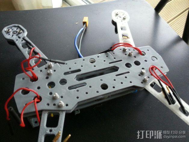 四轴飞行器 3D模型  图22