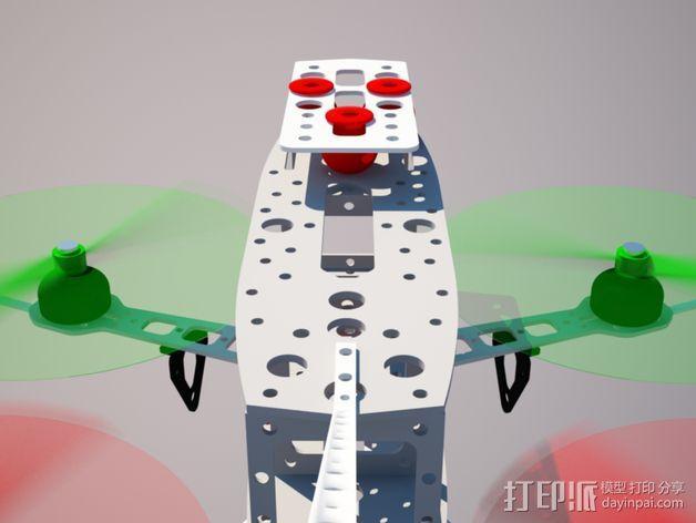 四轴飞行器 3D模型  图26