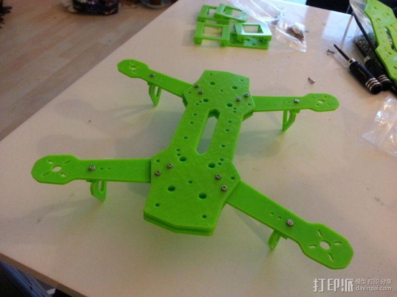 四轴飞行器 3D模型  图32
