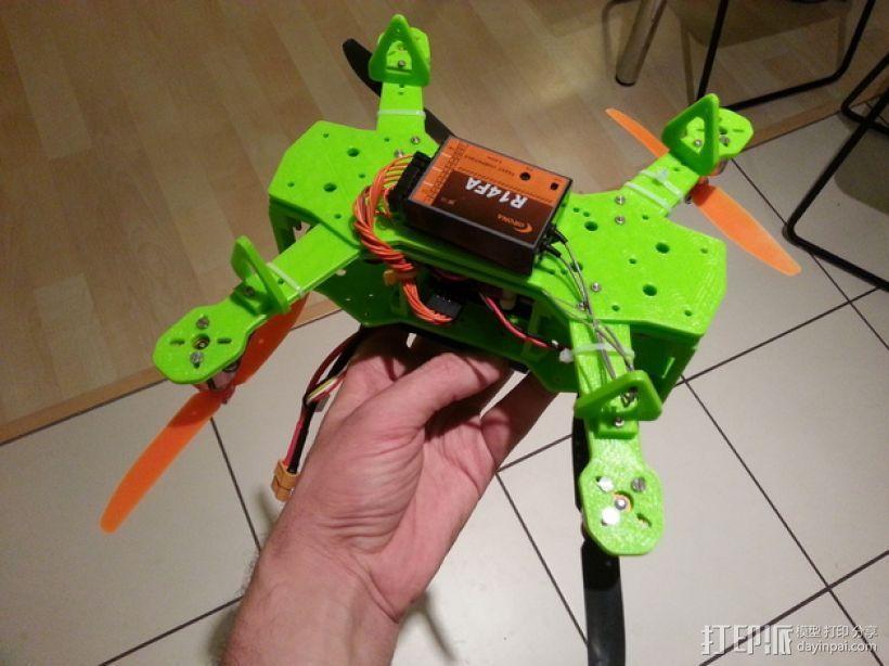 四轴飞行器 3D模型  图31