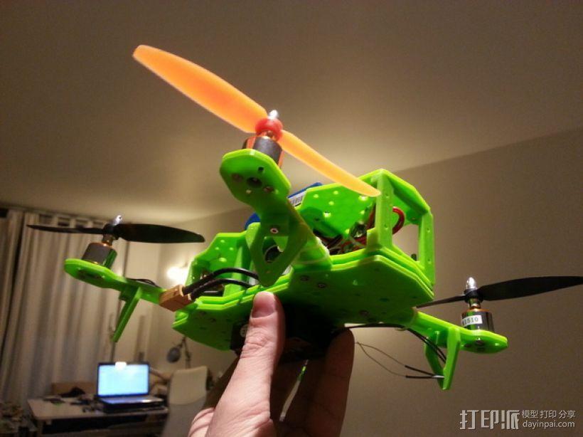 四轴飞行器 3D模型  图33