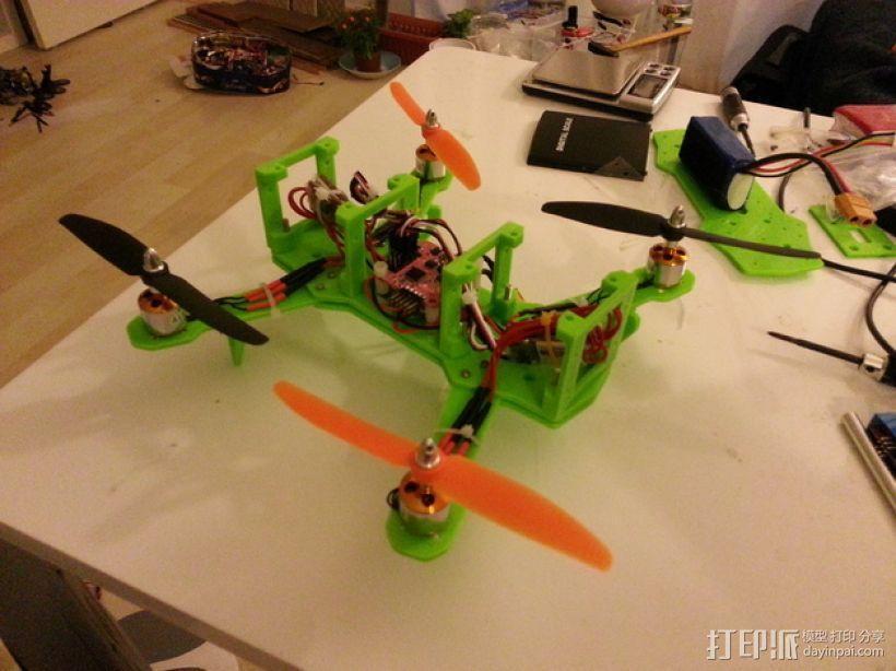 四轴飞行器 3D模型  图34