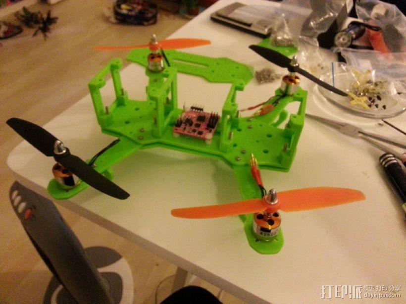 四轴飞行器 3D模型  图36