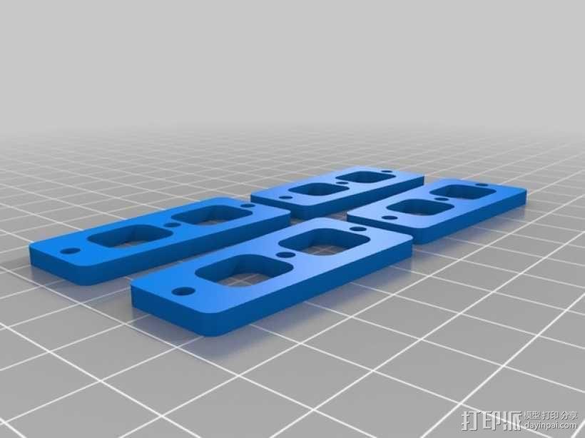 四轴飞行器 3D模型  图40