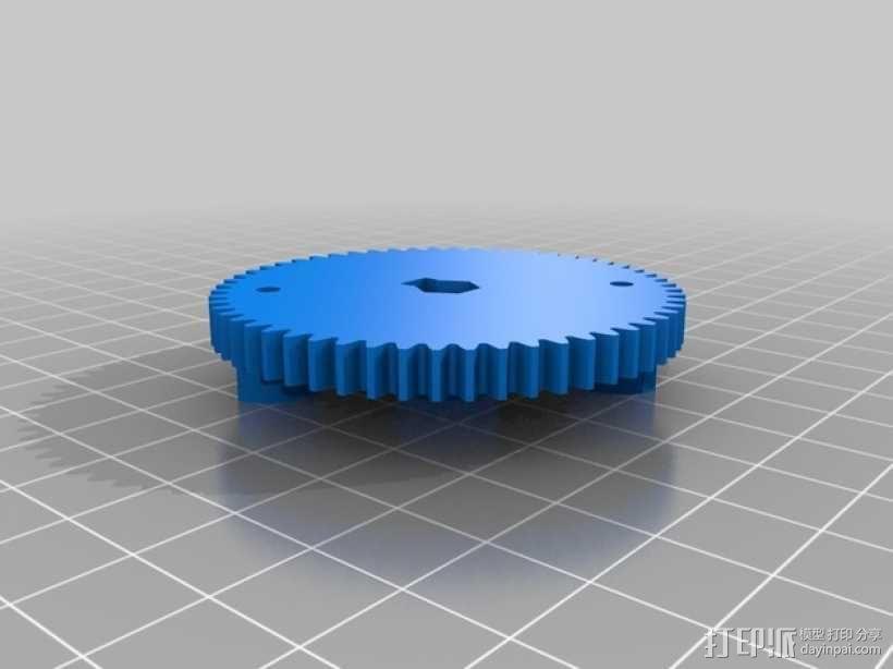 迷你挖掘机  3D模型  图7