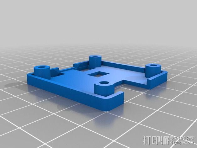 Naze32 Acro外壳 3D模型  图2