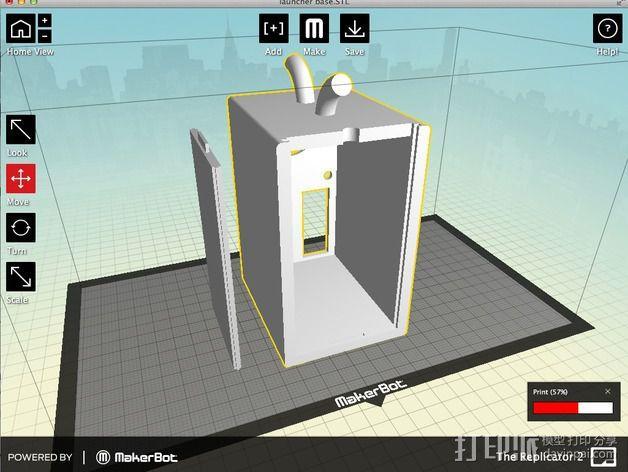 火箭发射器 3D模型  图10