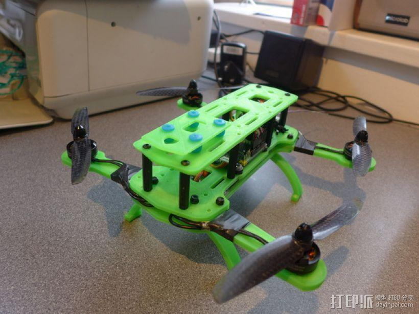Hammer Mini H四轴飞行器 3D模型  图1