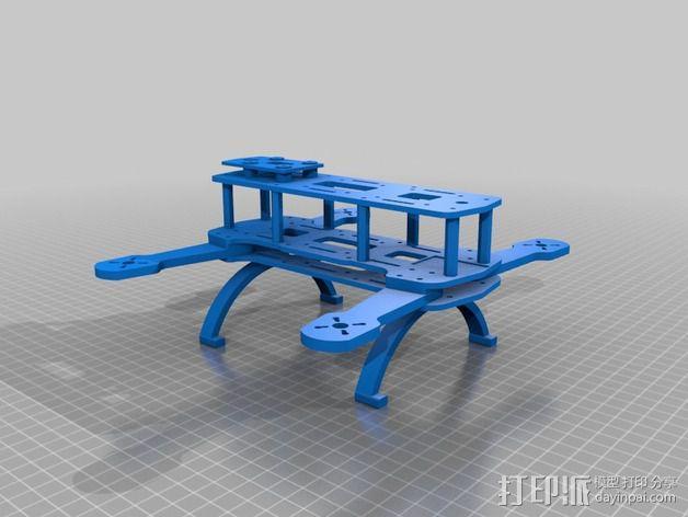 Hammer Mini H四轴飞行器 3D模型  图4