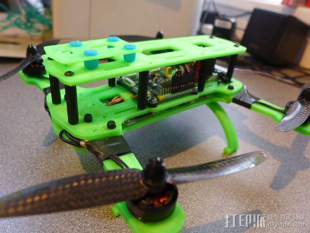 Hammer Mini H四轴飞行器 3D模型  图2