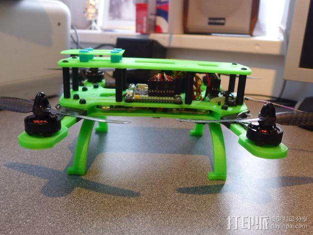 Hammer Mini H四轴飞行器 3D模型  图6