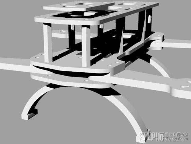 Hammer Mini H四轴飞行器 3D模型  图13