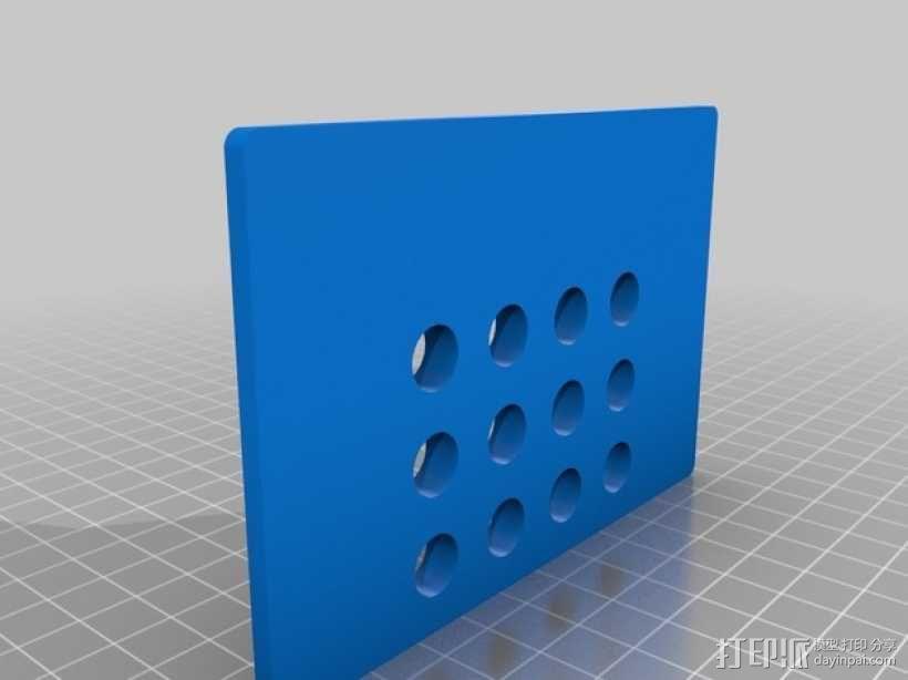 Turnigy 9XR的fpv组件 3D模型  图7