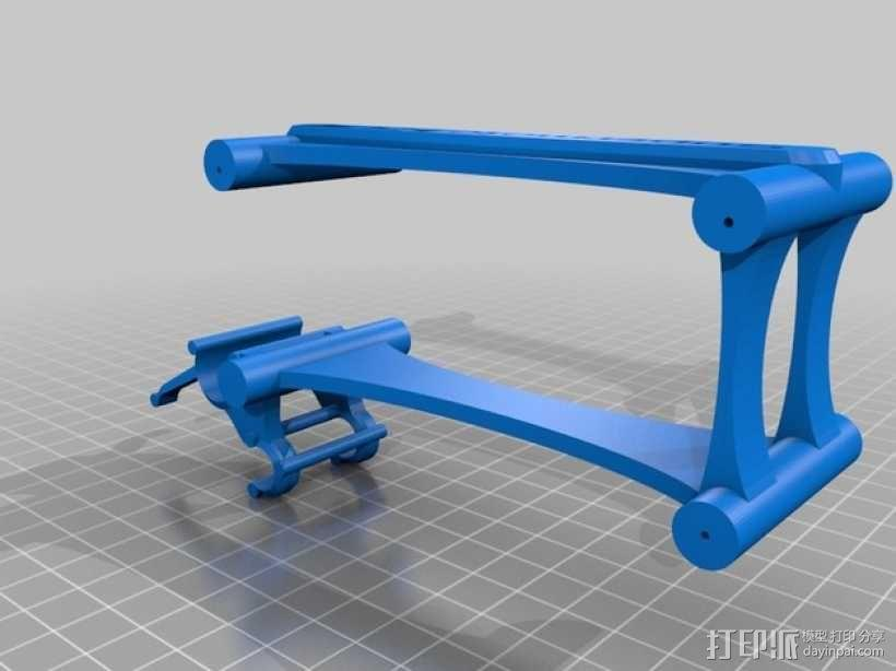 Turnigy 9XR的fpv组件 3D模型  图11