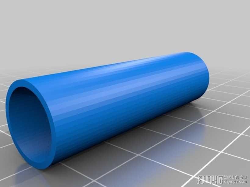 Turnigy 9XR的fpv组件 3D模型  图13