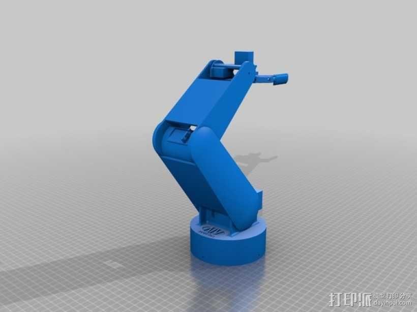 AURA机器手 3D模型  图2