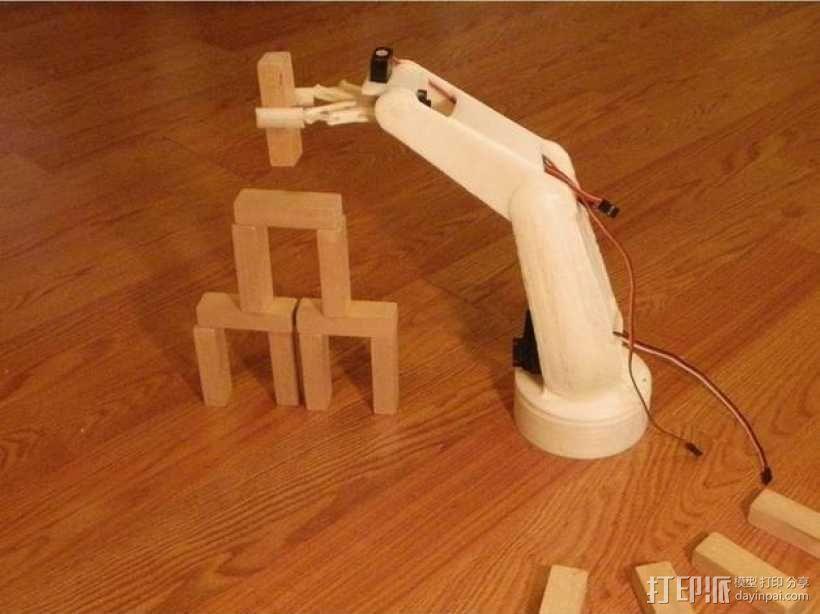 AURA机器手 3D模型  图4