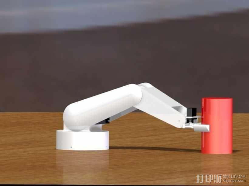 AURA机器手 3D模型  图9
