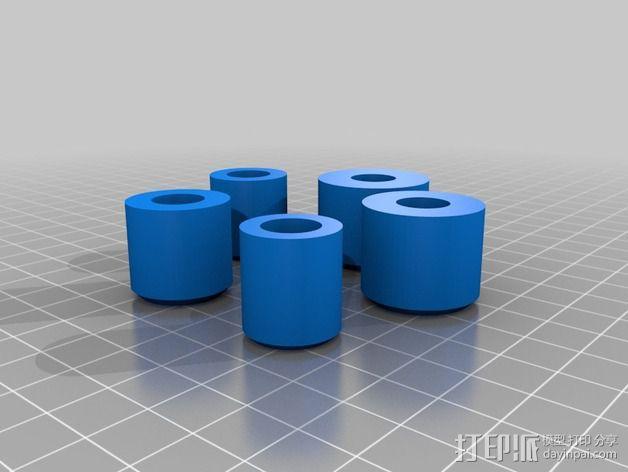 可定制硬币存储盒 3D模型  图3