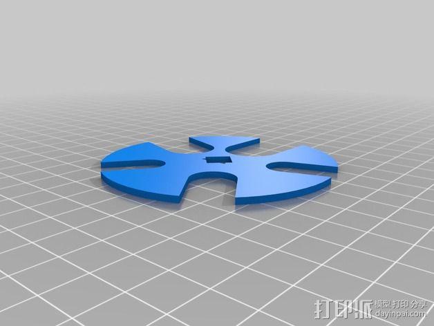 可定制硬币存储盒 3D模型  图4