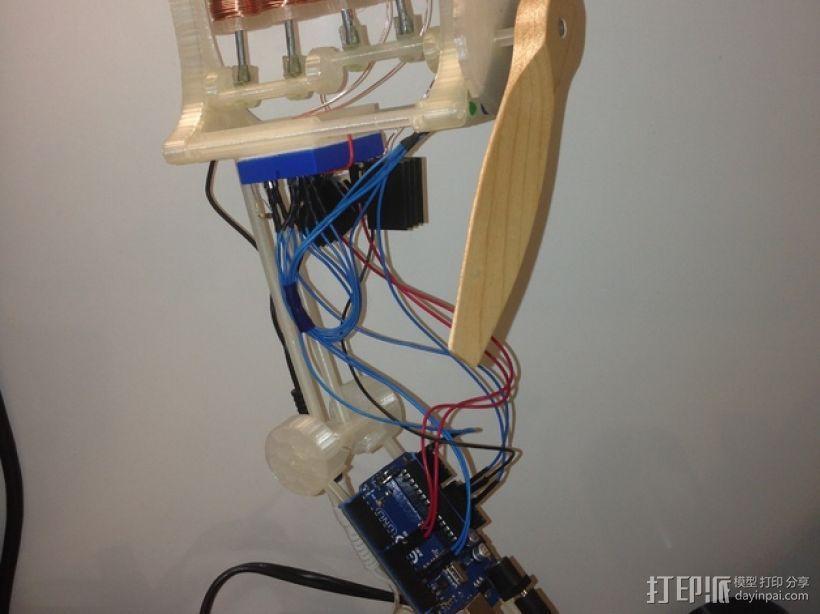 电磁发动机 3D模型  图4