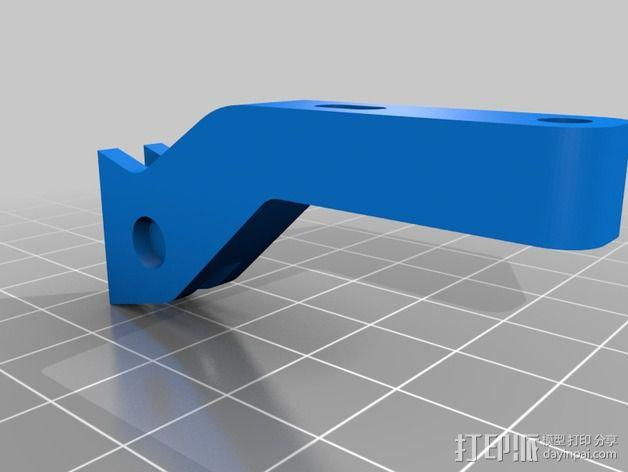 开放式无刷架 3D模型  图2