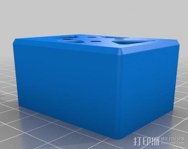 开放式无刷架 3D模型  图4