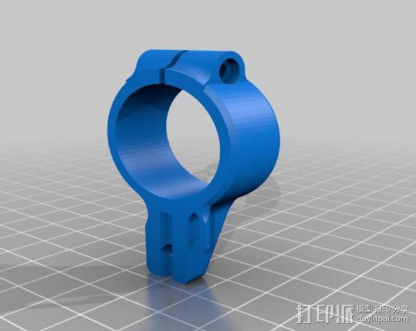 开放式无刷架 3D模型  图7