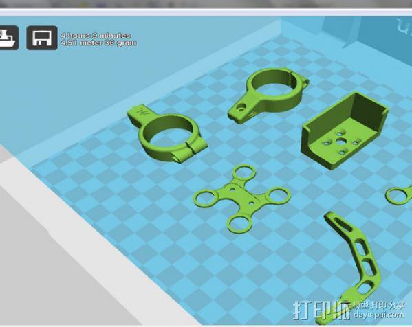 开放式无刷架 3D模型  图14