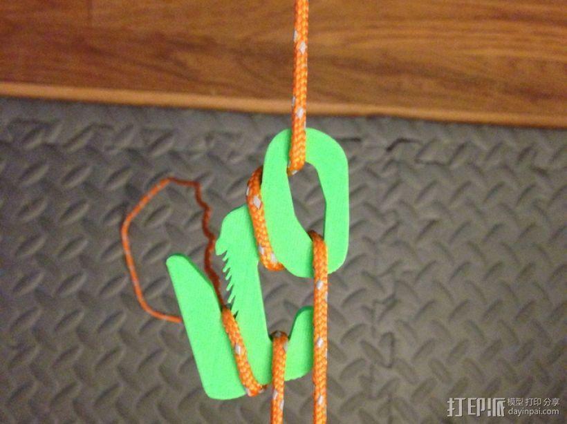 野营紧绳器 3D模型  图1