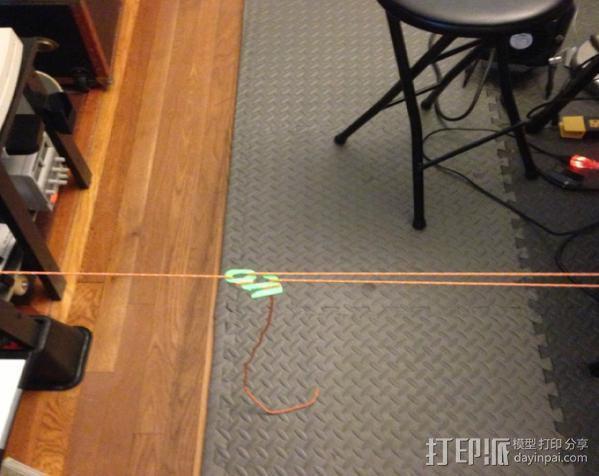 野营紧绳器 3D模型  图4