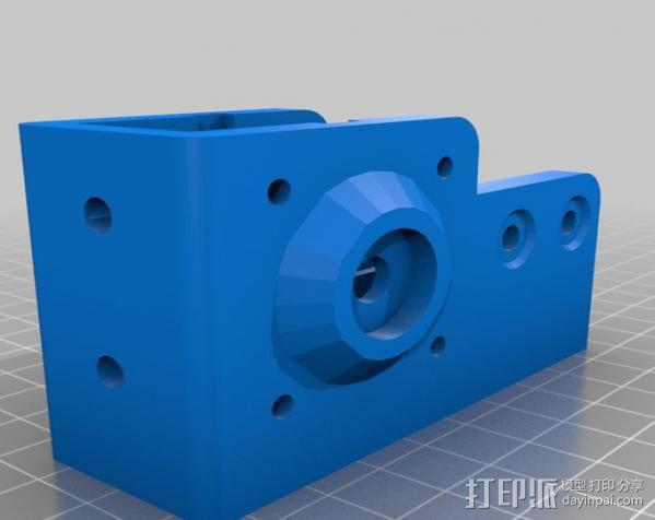 V型槽线性促发器 3D模型  图12