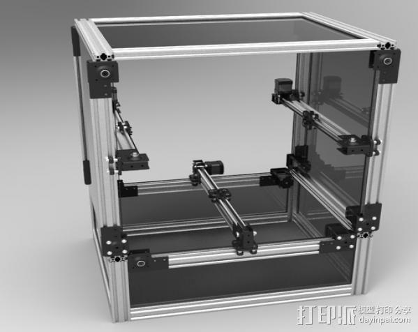 V型槽线性促发器 3D模型  图11