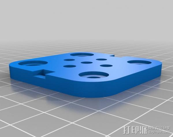 V型槽线性促发器 3D模型  图14