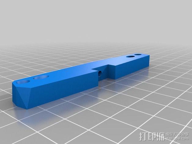 InMoov简易伺服床 3D模型  图2