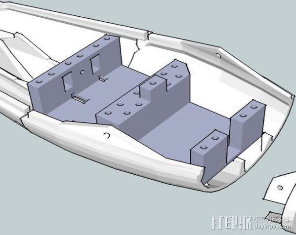 InMoov简易伺服床 3D模型  图10