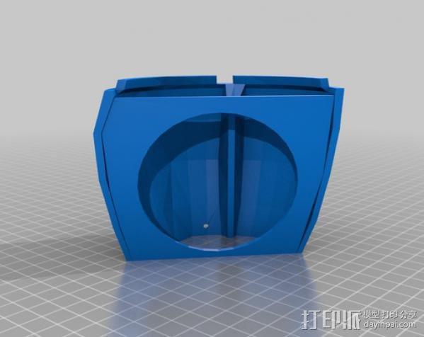 InMoov简易伺服床 3D模型  图13