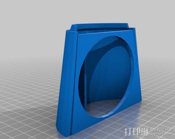 InMoov简易伺服床 3D模型  图15